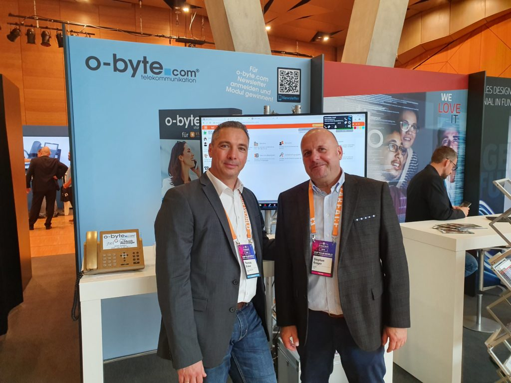 STARFACE Kongress 2019 - o-byte.com stellt  phonecloud vor