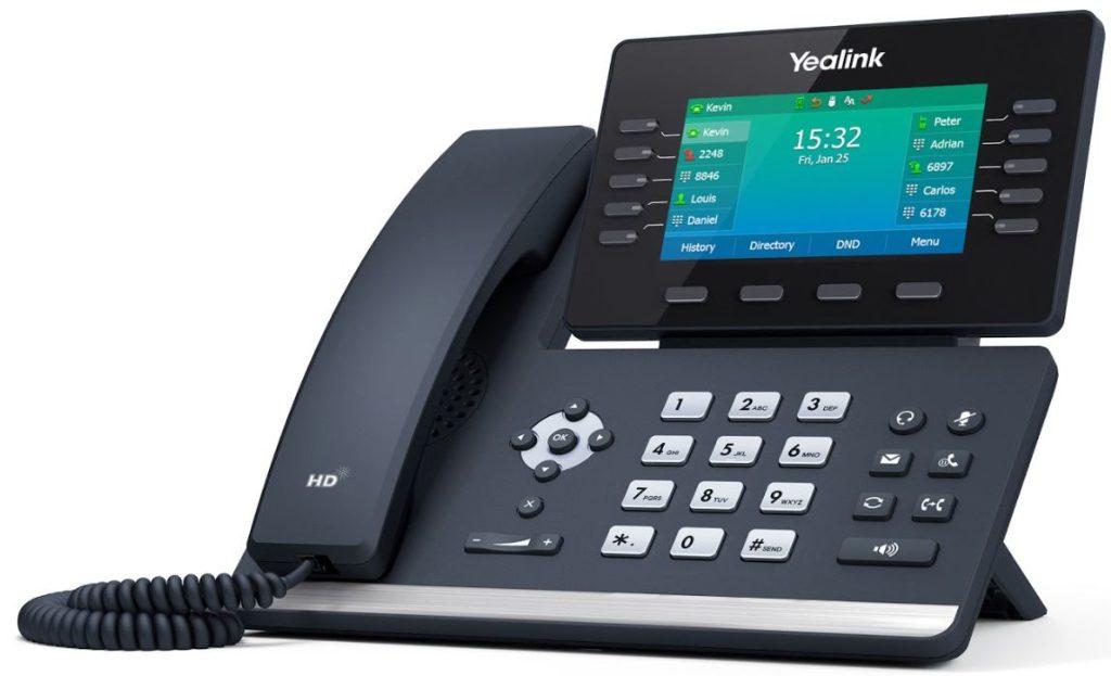 Yealink T54W VoIP Telefon