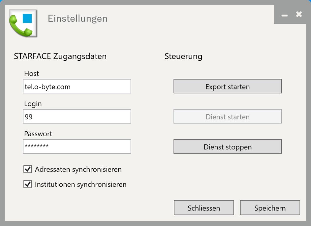 DATEV Client - Adressbuch Exporter