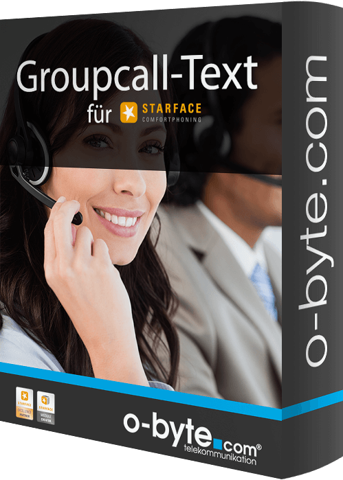 obyte - Groupcall-Text