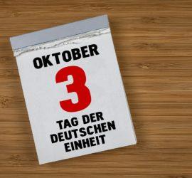 STARFACE Erweiterung: Feiertags-Umleitung - Tag der deutschen Einheit